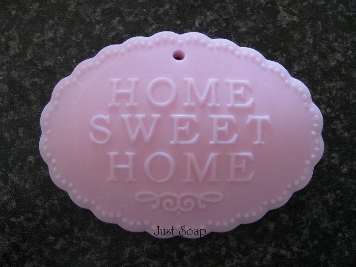 Home sweet home ovaal