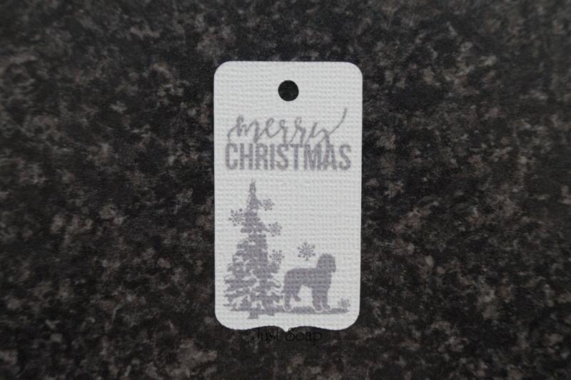 Merry Christmas Labradoodle (10 stuks)