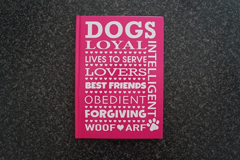 Notitieboekje Dogs ...