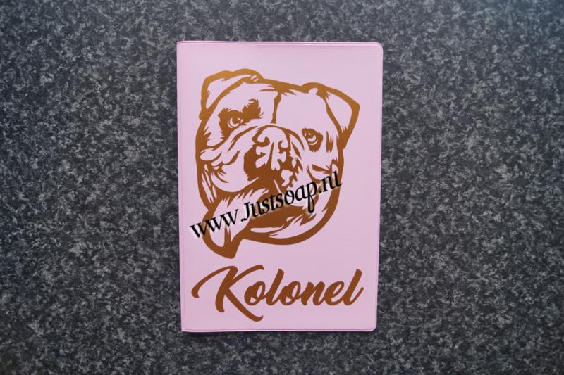 Paspoorthoesje Engelse Bulldog