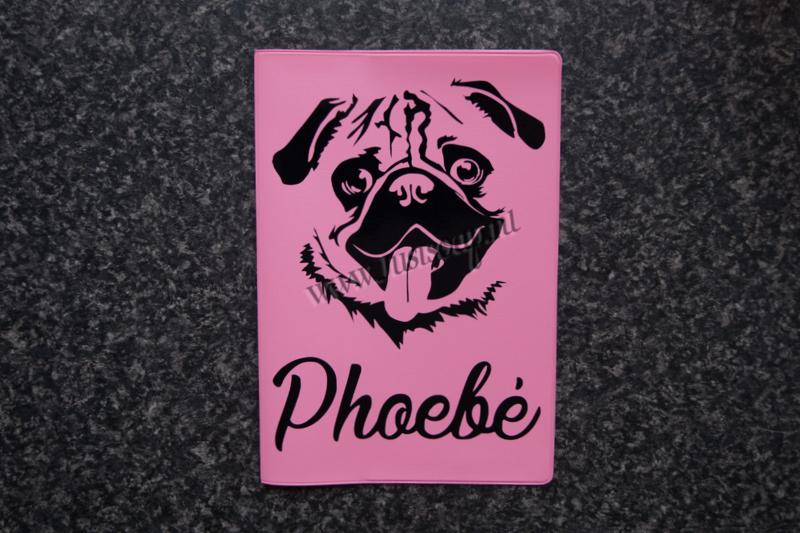 Paspoorthoesje Mopshond / Pug
