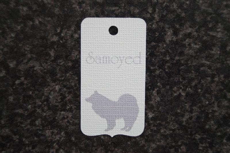 Label Samoyed