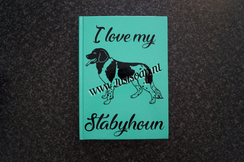 Notitieboekje I Love my Stabyhoun