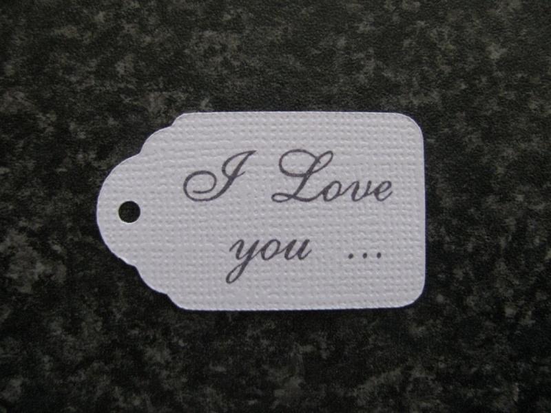 Label I love you