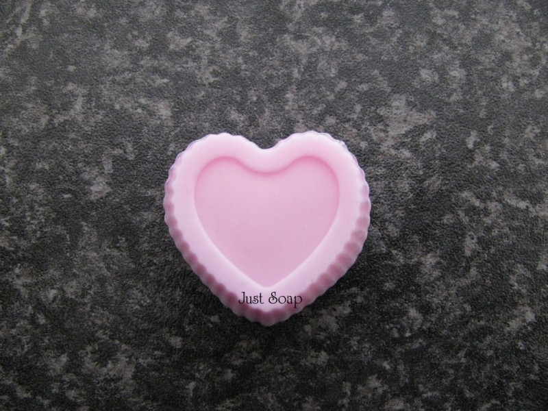 Mini cupcake hart