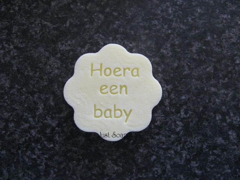 Bloemetje Hoera een Baby
