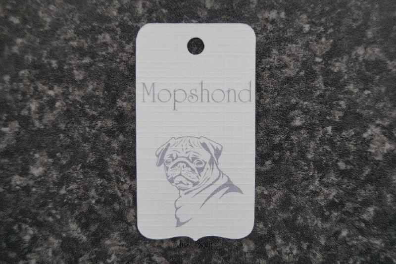 Label Mopshond 2