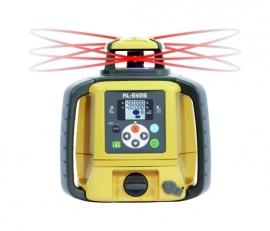 Dubbelafschotlaser RL-SV2S + Opdraaibaar statief + Laserbaak & Afstandmeter