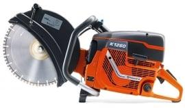 Husqvarna doorslijper K1260 Ø400mm inclusief zaagblad