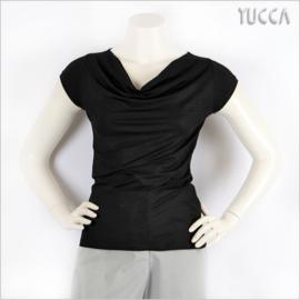 SLIPPELY  SACHI Tshirt Zwart