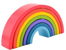 Joueco Regenboogblokken 7-delig