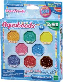 Aquabeads Parels 8 Kleuren Refill