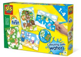 14456 Ses Kleuren Met Water Verborgen Dieren