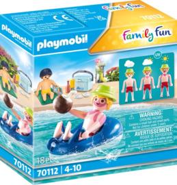 70112 Playmobil Badgast Met Zwemband