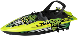 Nikko RC Race Boot Energy Green