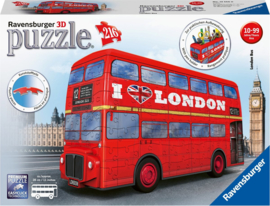 Puzzel 3D London Bus