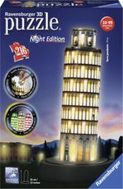 Puzzel 3D Toren Van Pisa Night Edition