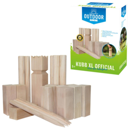Outdoor Play Kubb Spel Official