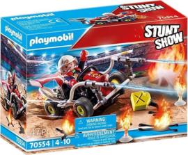70554 Playmobil Stuntshow Brandweerkart