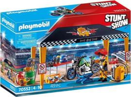 70552 Playmobil Stuntshow Werkplek