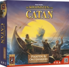 Catan-Piraten en Ontdekkers