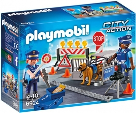6924 Playmobil City Wegversperring