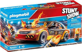 70551 Playmobil Stuntshow Crashcar