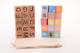 Joueco Family Alfabet Blokken