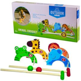 Outdoor Play Dieren Croquet
