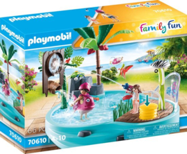 70610 Playmobil Zwembad Met Watersplash