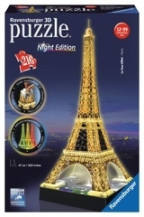 Puzzle 3D Eifeltoren Night Edition