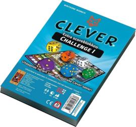 Scorebloc 2 stuks Clever Challenge