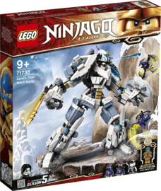 71738 Ninjago Zane Titanium Mech