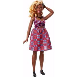 Barbie Fashion Kleurrijke Jurk