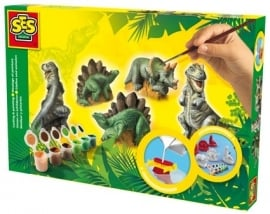 01406 Ses Gipsgieten Dinosaurissen