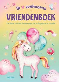 Vriendenboek I Love Eenhoorns