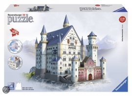 Puzzle 3D Slot Neuschwanstein