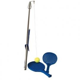 Tennistrainer met Paal