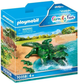 70358 Playmobil Alligator Met Baby