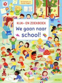 Kijk En Zoekboek We gaan Naar School
