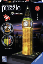 Puzzel 3D Big Ben Night Edition