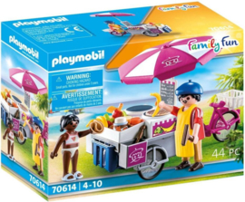 70614 Playmobil Crepesverkoop