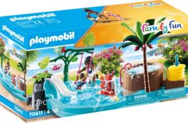 70611 Playmobil Kinderzwembad Met Whirlpool