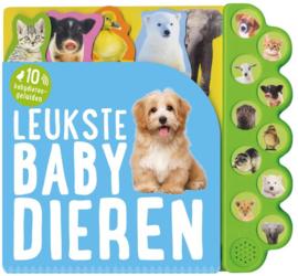 Geluidenboek De Leukste Babydieren