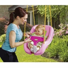 Schommel 2 in 1 Little Tikes Roze