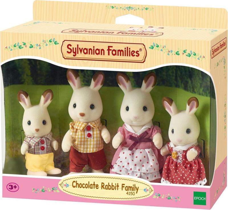 4150 Familie Chocolade Konijn