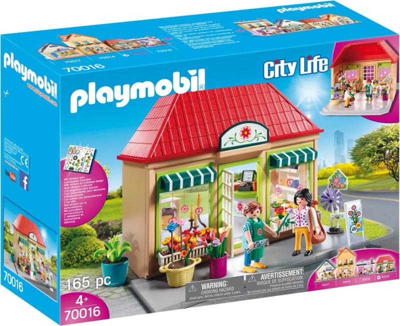 70016 Playmobil Mijn Bloemenhuis