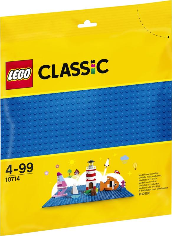 10699 Lego Classic Bouwplaat Blauw