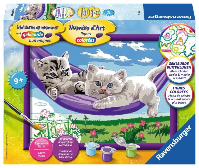 Kittens in Hangmat
