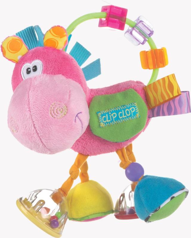 Playgro Clip Clop Rammelaar Roze